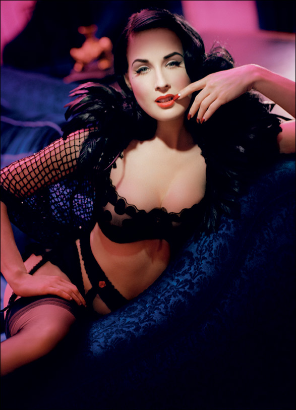 3b7f353d8af Dita Von Teese To Design Lingerie In All Sizes