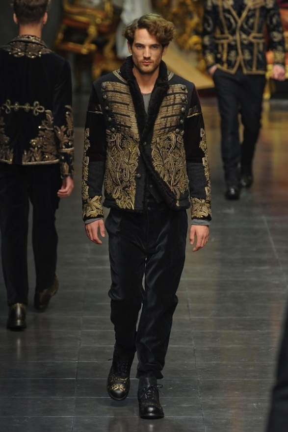 baroque inspired fashion men - photo #23