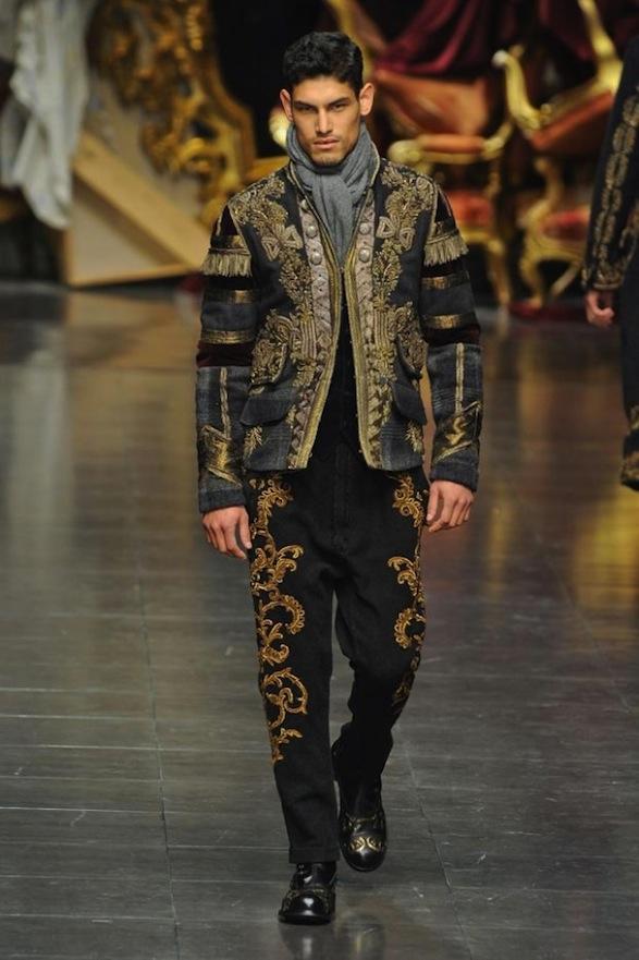 baroque inspired fashion men - photo #19