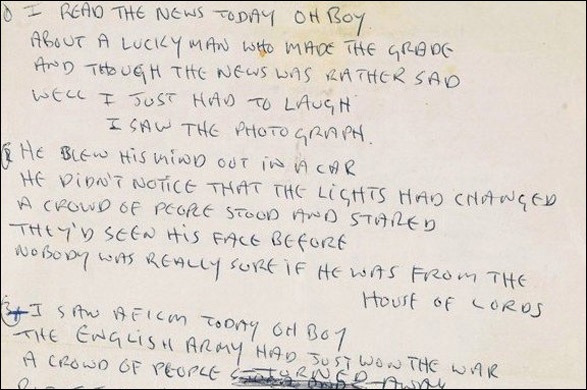 final portfoilo paper eleanor rigby Free eleanor rigby papers, essays, and research papers  the same refrain is  used to end the poem, making a complete circle this creates, for the reader,.