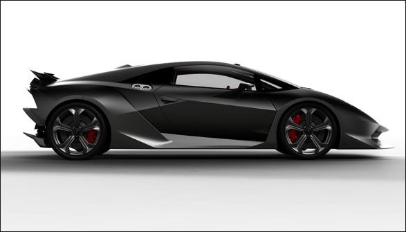 Delicieux Lamborghini Sesto Elemento Concept