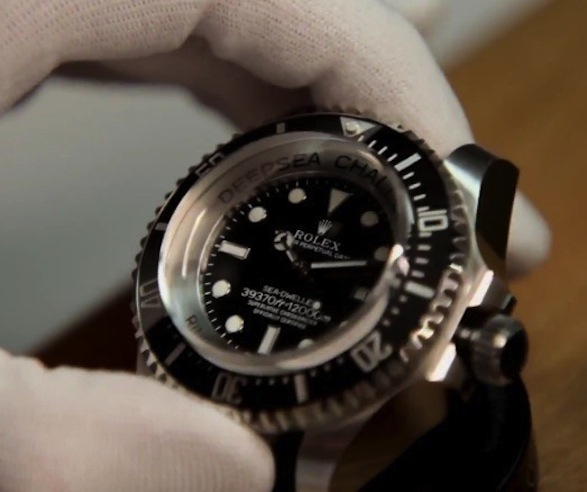 Rolex Deepsea Challenge Watch Twisted Lifestyle