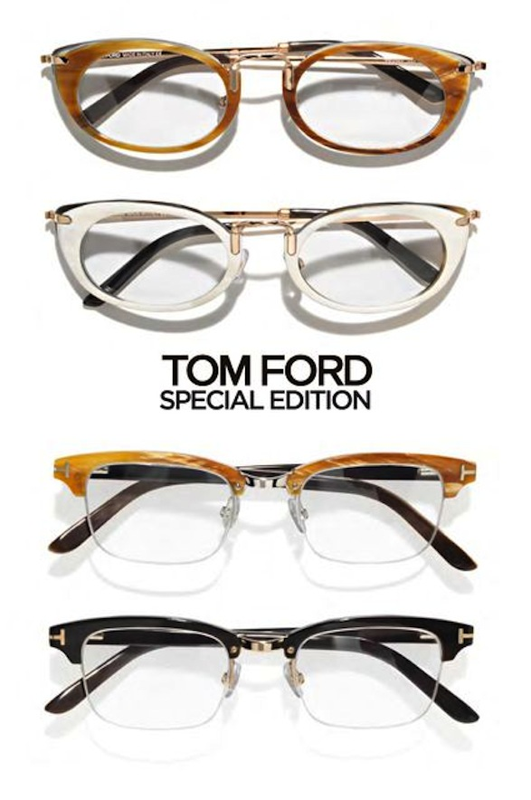 tom ford 1950 s inspired glasses twisted lifestyle