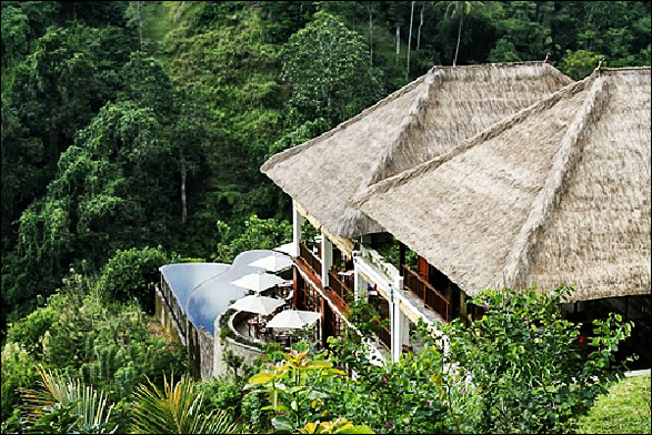 Ubud hanging gardens hotel infinity pools twisted lifestyle for Ubud hanging gardens swimming pool price