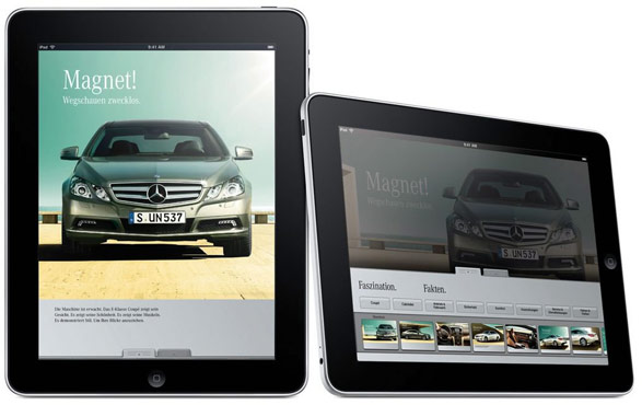Mercedes benz on ipad iphone twisted lifestyle for Mercedes benz app for iphone