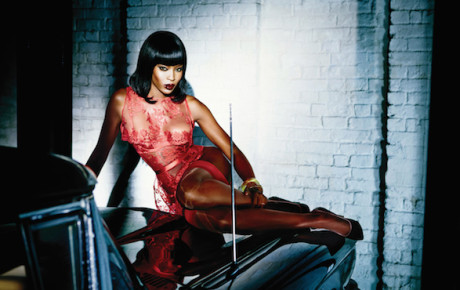 Agent Provocateur Spring Summer 2015 Campaign featuring Naomi Campbell