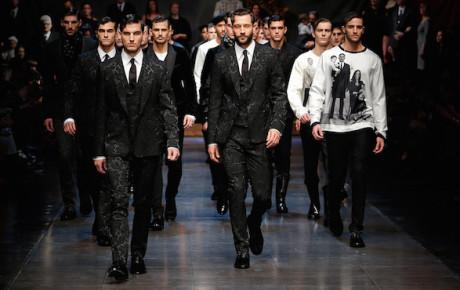 Dolce & Gabbana Winter 2016 Mens Fashion Show