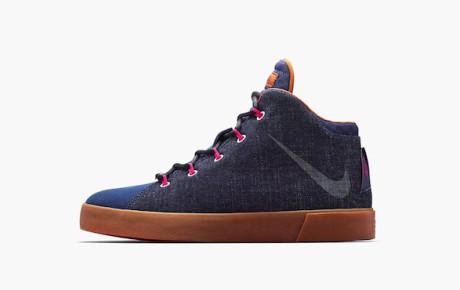 Nike LeBron 12 Lifestyle Denim Sneaker