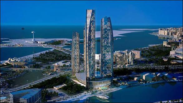 Jumeirah Hotel Apartments at Etihad Towers - Abu Dhabi
