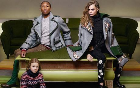 Pharrell & Cara Delevingne Chanel 2015 Paris Salzburg Campaign